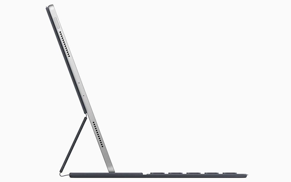 Nouvel iPad Pro avec smart keyboard